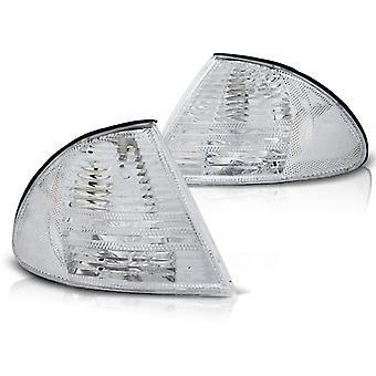 Flashing LIGHTS BMW E46 05 98-08 01 CHROME
