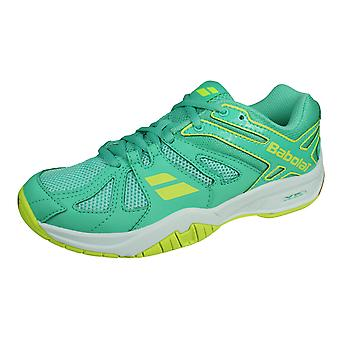 Babolat Shadow Team Womens Badminton Shoes / Trainers - Sea Green