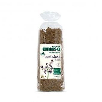 Amisa - GF Buckwheat Fusilli Organic 500gg