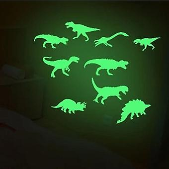 Autocollants lumineux Cool Dinosaur -stéréo 3d Fluorescent Sticker