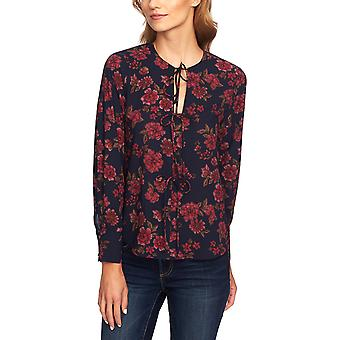 1.State | Plush Luxe Gallant Garden Blouse