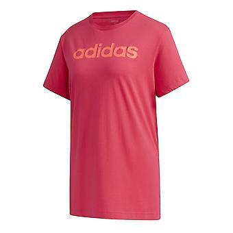 Adidas W E Lineárne GD2911 univerzálne celoročné pánske tričko