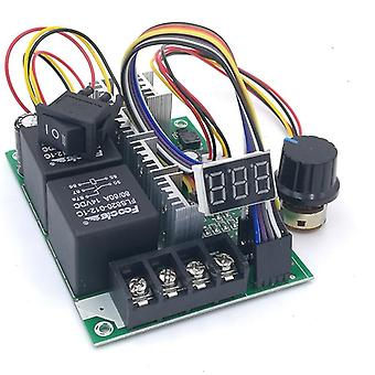 Pwm Speed Controller Dc Motor Digital Display 0~100% Adjustable Drive Module Input Max60a 12V 24V Pwm Speed Controller Dc Motor Digital Display 0~100% Adjustable Drive Module Input Max60a 12v 24V Pwm Speed Controller Dc Motor Digital Display 0~100% Adjustable Drive Module Input Max60a 12v 24V Pw