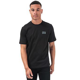 Męska koszulka z etykietą Emporio Armani EA7 Core ID M w kolorze czarnym