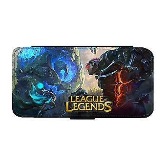 LOL League of Legends سامسونج غالاكسي S9 محفظة القضية