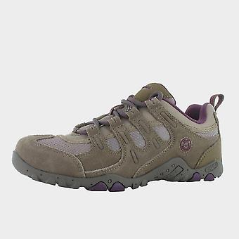 Neue Hi Tec Frauen's Quadra Classic Walking Schuhe Braun