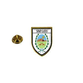 pine pine pine badge pine pin-apos;s souvenir city flag country coat of arms san luis Argentinian