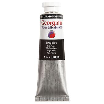 Daler Rowney Georgian Water Mixable Oil Colour 200ml - Zink Wit (001)