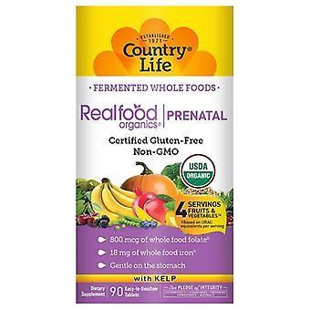 Country Life Realfood Organics Prental Päivittäinen ravitsemus, 90 Tabs