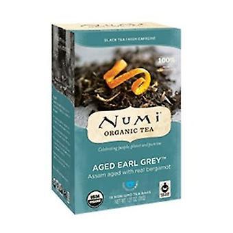 Numi Tea Earl Grey Black Tea, 18 Bag