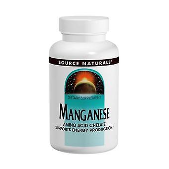 Källa Naturals Mangan Chelate, 10 mg, 250 Flikar