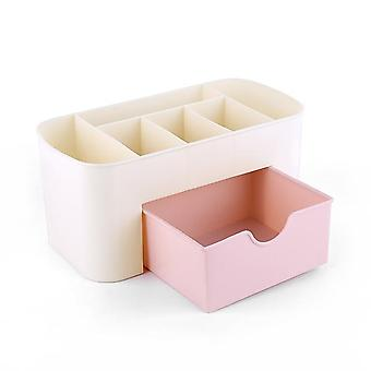 Large Capacity Cosmetic Storage Box - Drawer For Mobile Phone Container