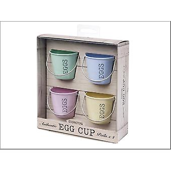 Eddingtons Egg Cup Buckets Pastel x 4 83022