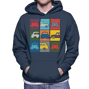 London Taxi Company Colourful Angles Men's Hooded Sweatshirt