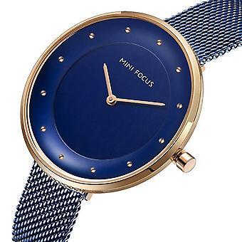 MINI FOCUS MF0179L Full Steel women Wrist Watch Luxury Fashionable Quartz