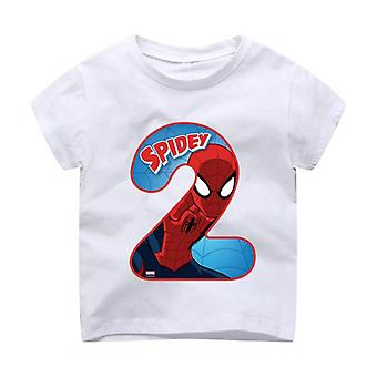 Happy Birthday A Number 1~9th Kids T-shirts - Tshirt Clothes For Baby