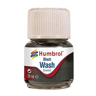 Humbrol av0201 enamel wash (black), 28ml