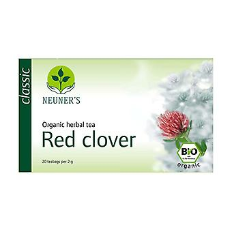 Organic Clover herbal tea 20 infusion bags