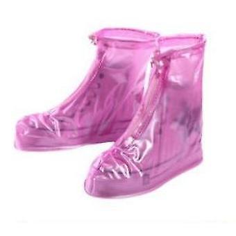 Επαναχρησιμοποιήσιμες αδιάβροχες καλύψεις παπουτσιών για τη μοτοσικλέτα/την ποδηλασία/το ποδήλατο μποτών Rainwear