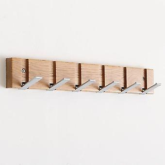 Flip Wood Wall-mount Rack