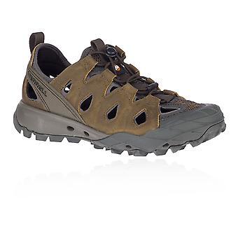 Merrell Choprock Läder Sikt Kvinnor's Sandaler - SS21