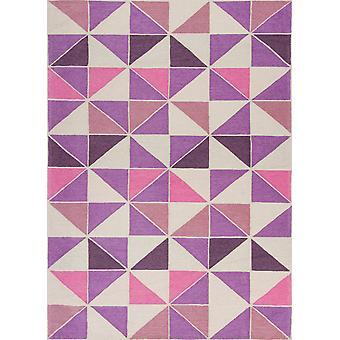 Retreat 0130 Elfenbein/Rosa Kaleidoskop Teppich