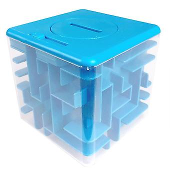 3d Maze Magic Cube Transparent - Six Sided Puzzle Speed Rolling Ball Jouet