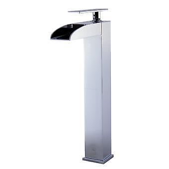 Alfi marca Ab1597-Pc pulido cromo agujero alto cascada baño grifo