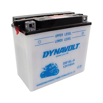 Dynavolt CB18LA2 High Performance Battery With Acid Pack