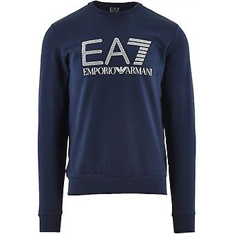 Sweat-shirt EA7 Navy Logo