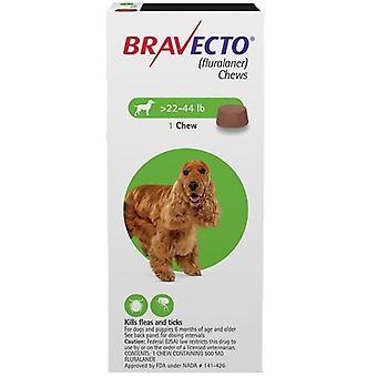 Bravecto pureskelee koirille, 1 hoito vihreä laatikko