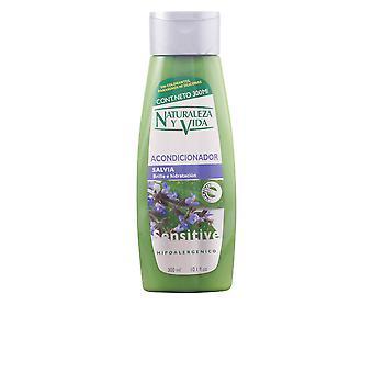 Naturaleza Y Vida Acondicionador Sensitive Salvia 300 Ml Unisex