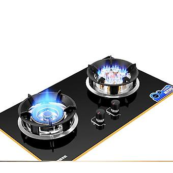 Gas Stove Double Fire Embedded , Gas-cooktop Catering Equipment