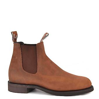 R.M. Williams Men's Gardener Bark Leather Chelsea Boot