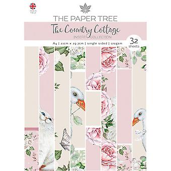 The Paper Tree - The Country Cottage Collection - A4 Insert Collection