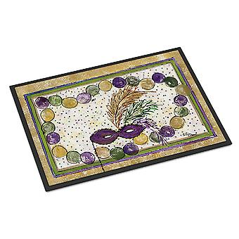 Caroline's Treasures Mardi Gras Beads Zerbino interno o esterno, 24 x 36, Multicolor