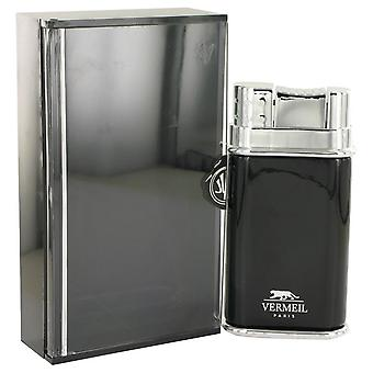 Vermeil Black Eau De Toilette Spray By Vermeil 3.4 oz Eau De Toilette Spray