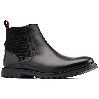 Base london men's anderson chelsea boot black 31191