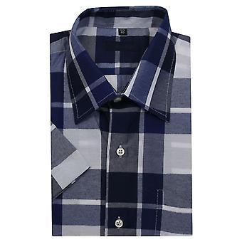 Camisa a cuadros ajustada