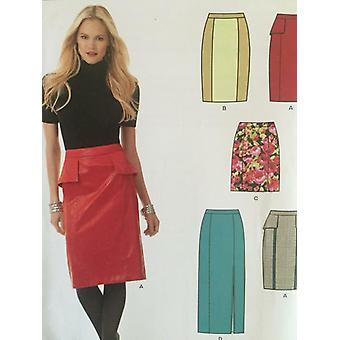 New Look Sewing Pattern 6157 Misses Ladies Skirts Size 4-16 Uncut