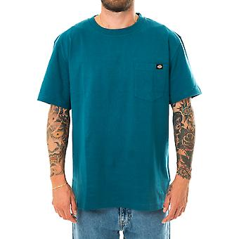 Dickies Porterdale Coral Camiseta azul Dk0a4tmocbl para hombre