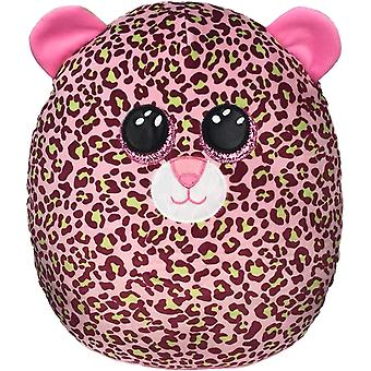 """TY Lainey Leopard Squish-A-Boo 14"""""""