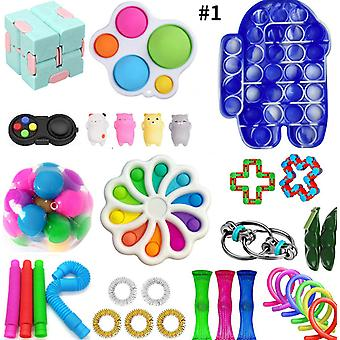 Fidget Sensory Toys Set Kit Stress Relief Toys