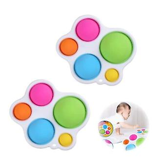 Simples Dimple Fidget Toy,chaveiro Fidget Toy For Kids