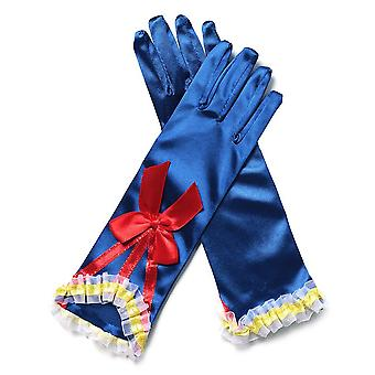 Snow White Cosplay Gloves With Bows Beautiful Costume For Girls