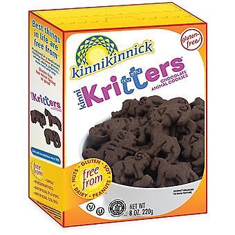 Kinnikinnick Gluteeniton Kinni Kritters Suklaaeläinkeksit
