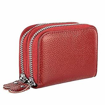 Zipper Wallet Purses, Design Genuine Leather Women's Wallets