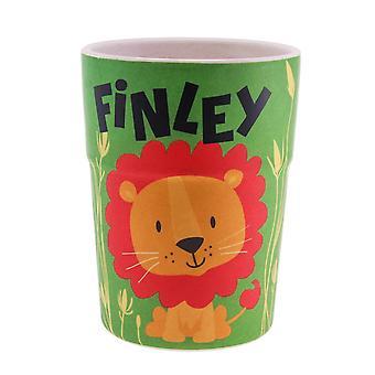 History & Heraldry Bamboo Crew Beaker Lions & Tigers Finley