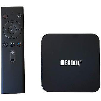 MECOOL KM9PRO Classic Android TV Box - Google zertifiziert - 4K - Wi-Fi - Google Assistant - Chromecast eingebaut - 2 GB RAM 16 GB ROM - HDMI - RJ45(Schwarz)