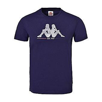 Kappa Ionik Indro Kurzarm Herren T-Shirt, Herren, Kurzarm T-Shirt, 304PIZ0, Marineblau, XL